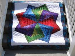 Spinning Star Quilt Pattern