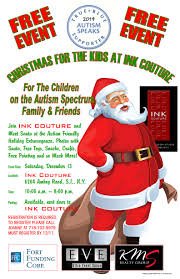 Christmas For Kids Christmas For The Kids At Ink Couture Events Autism Speaks