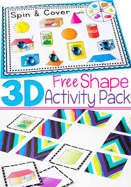 free printable 3d shape activity pack 4 fun activities for learning about 3d shapes