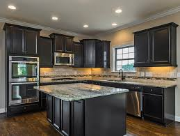 dark stained kitchen cabinets. Most Of Our Clients Either Choose A Painted White/linen Cabinet Or Dark Espresso Stained For Their Kitchen. We Rarely See Anything In-between. Kitchen Cabinets T