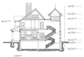 architecture building drawing. Architectural Building Section View In AutoCAD Architecture Building Drawing