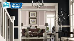 Tricorn Black Sherwin Williams Liveable Lux Wallpaper Collection Hgtv Home By Sherwin Williams