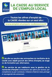 candidats recruteurs la caese propose un nouveau service en ligne à votre intention accessible sur emploi etois sudessonne fr