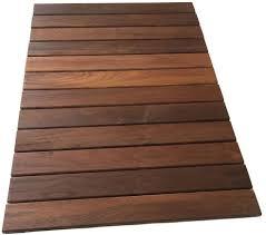 rollfloor camping rv outdoor rug mat wood deck tile pad american hardwood new