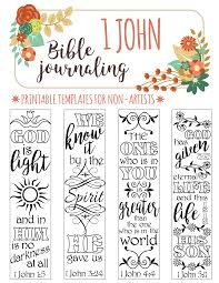 Art For Non Artists 1 John Bible Journaling Printable Templates For Non Artists