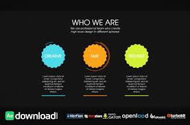 Videohive Design Agency Infographic Free Download Free