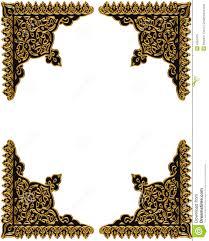 gold corners design element