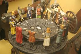 image of knight of the round table inspired
