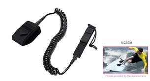 <b>9ft</b> Coiled <b>Surfboard</b> Leash <b>Surfing Stand Up Paddle</b> Safety <b>Board</b> ...