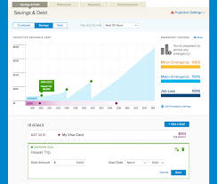 Debt Goal Chart Hellowallet Launches Savings And Debt Guidance Tool Finovate