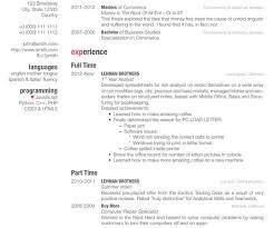 Latex Resume Template