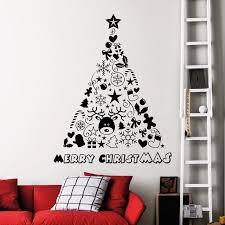 vinyl wall art christmas tree