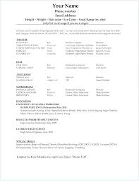Resume Template College Student Reluctantfloridian Com