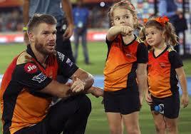 PIX: Ivy, Indi Warner celebrate SRH win with dad David - Rediff Cricket