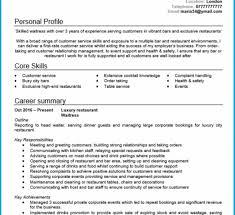 Australian Format Resumes 10 Australian Resume Example Waiter Proposal Letter