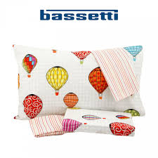 Bassetti time home parure copripiumino una piazza weekend