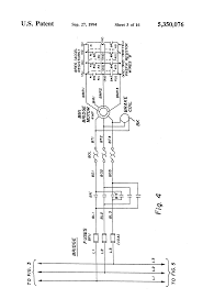 patent us5350076 bridge crane electric motor control system patent drawing