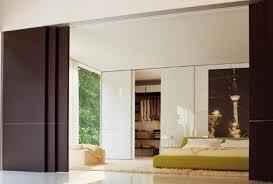 Wood Sliding Bedroom Door Design