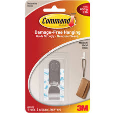 Command Strip Coat Rack Command Designer Hooks Brushed Nickel Medium 100 Hooks 100 Strips 43