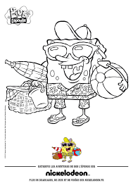 Spongebob Squarepants Coloring Page With And Patrick Pages At