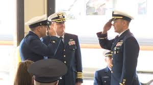 Change Of Command Ceremony Held At U S Coast Guard Station
