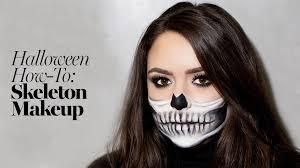 skeleton makeup tutorial 2017 the prettiest skeleton costume how to glamour