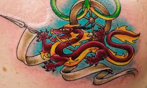 значение тату дракон разный цвет разный смысл