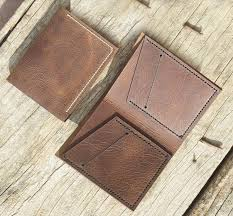 handmade personalized leather wallet leather men s bi fold pocket wallet card holder gift wallet hand stitched listing 2030 copy