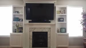 Built In With Fireplace Fireplace Tv Surround Built Ins Diy