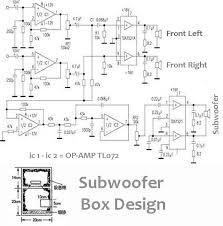 power audio amplifier 2 1 (2 front 1 subwoofer) in 2019 4X12 Speaker Wiring Diagrams at Amplified Speakers Wiring Diagram