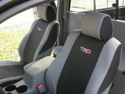 oem toyota tacoma trd seat covers fits