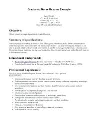 sample nursing student resume cover letter best ...