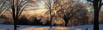 paysage d hiver et de verglas au québec