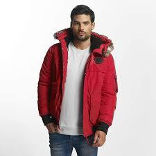blmk001062rd012 bench men winter jacket nomens in red lining