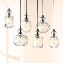 Lighting pendants glass Clear Glass Kichler Riviera 35 12 Shades Of Light Multilight Pendants Clustered Pendant Light Designs Lamps Plus