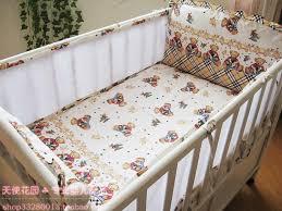 new fashion crib bedding per sheet baby summer baby per set 100 cotton 5 pcs