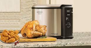 Turkey Fryer Size Chart Top 10 Best Turkey Deep Fryers Of 2019 Review Buying Guide
