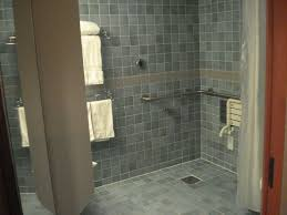 handicapped showers
