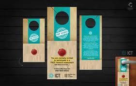 Design Door Hanger Custom Design Ideas