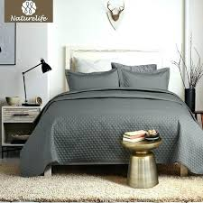 diamond bed set grey quilt bedspread cover quilted bedding duvet pillowcase white bedroom best