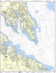 Potomac River Depth Chart Noaa Nautical Chart 12233 Potomac River Chesapeake Bay To