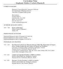 Clinical Pharmacist Cover Letter Cover Letter Sample