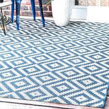 blue outdoor rug 5x7 navy new indoor geometric diamond solid ru blue outdoor rug