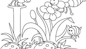 Best Of Flower Coloring Pages For Kids Design Printable Sheet
