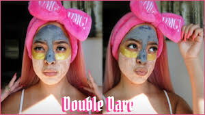 <b>Double Dare OMG</b>! 4IN1 MASK | Dimple Fvce - YouTube