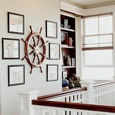 absolutely smart ship wheel wall decor large decoration steering mirror wheels helm boat for