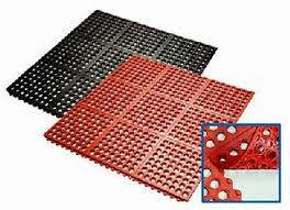 elected design of commercial rubber floor mats