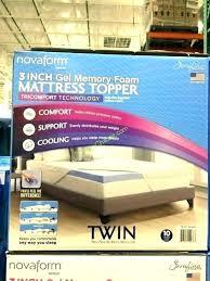 costco novaform mattress review. Interesting Costco Costco Novaform Mattress Review 3 Gel Memory Foam  Topper Reviews   Inside Costco Novaform Mattress Review