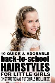 looking for cute and easy back to hairstyles for long hair we