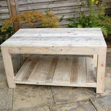Legion Pallet Coffee Table Can Double As A CartPallet Coffee Table